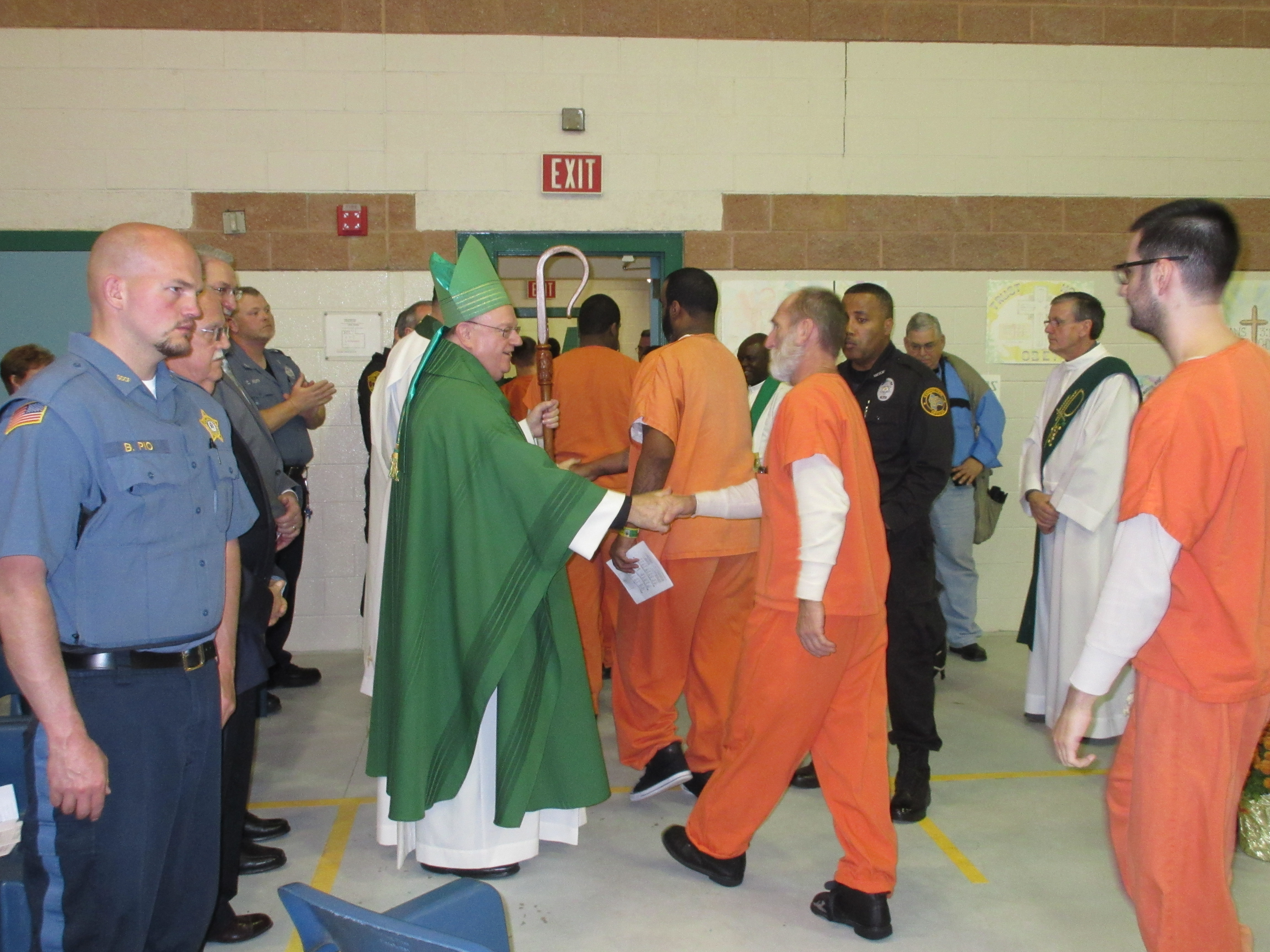 Visiting the Imprisoned – Catholic Charities