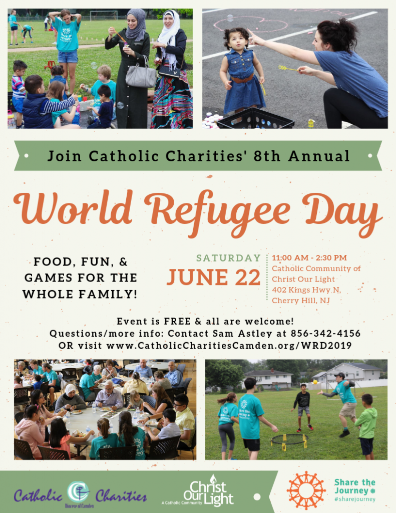 a1a5b9583ed 2019 Word Refugee Day - Catholic Charities